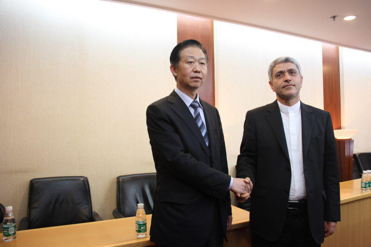طیب نیا و وزیر کشور چین