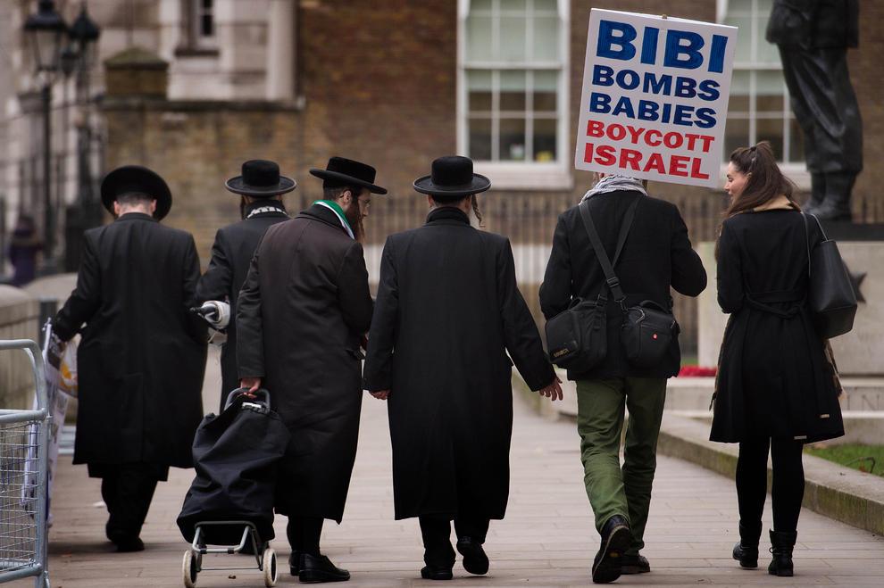 تظاهرات علیه بنیامین نتانیاهو