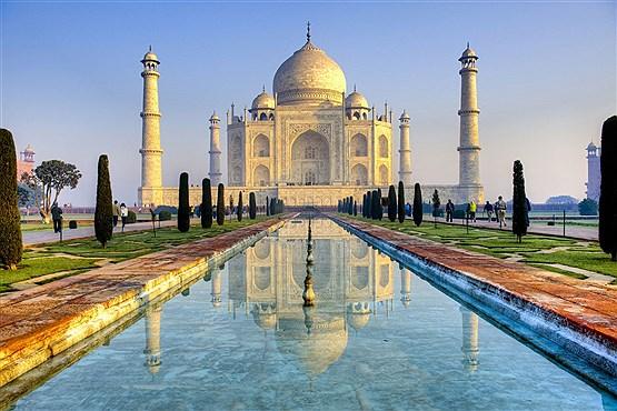 تاج محل در آگرای هند