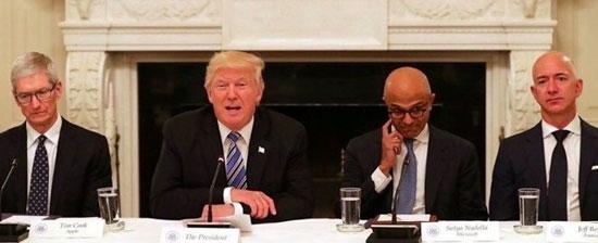 در جلسه ترامپ با مدیران غولهای IT چهگذشت؟