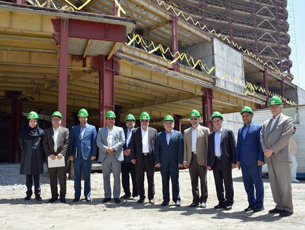 ساخت پروژه نیمه تمام بیمارستان ۸۰۰ تخت خوابی با حمایت بانک ملت