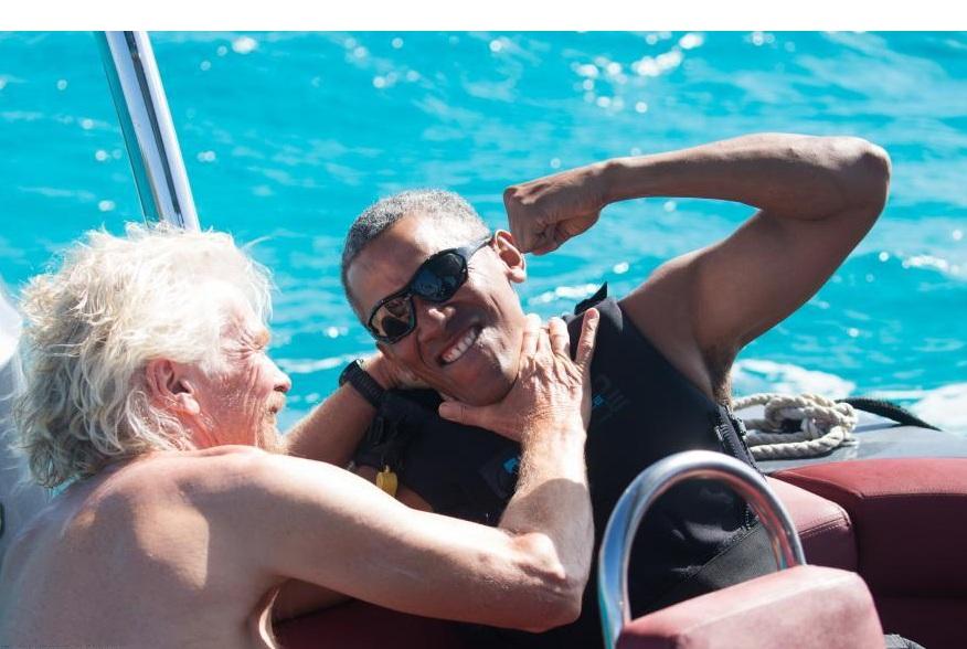اوباما در تعطیلات