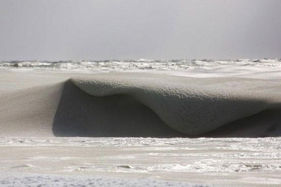 امواج یخ زده
