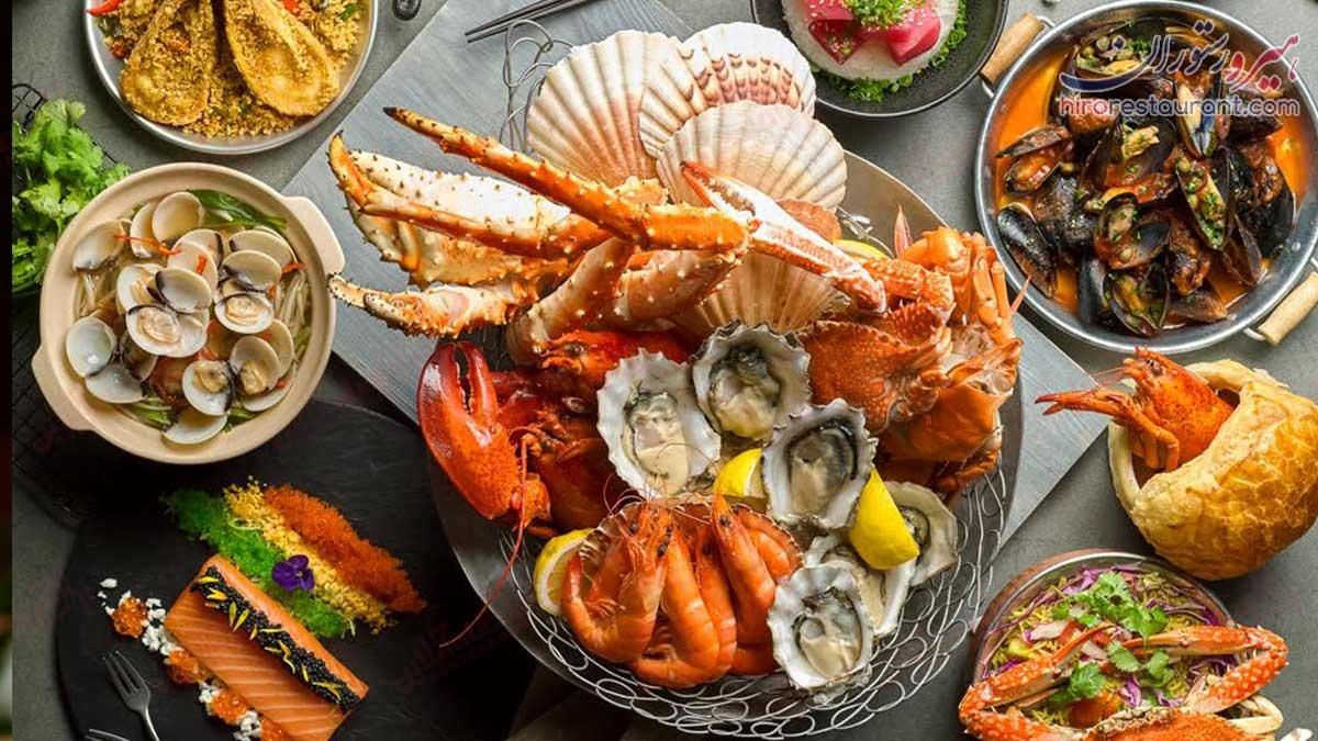 غذای دریایی1