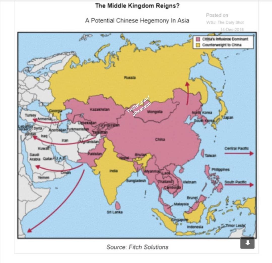 نفوذ چین