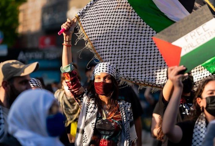 حمایت دختران سوپر مدل جهان از فلسطین