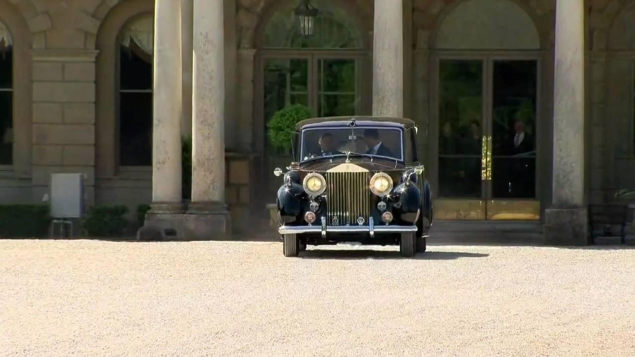 ماشین خانواده سلطنتی انگلیس