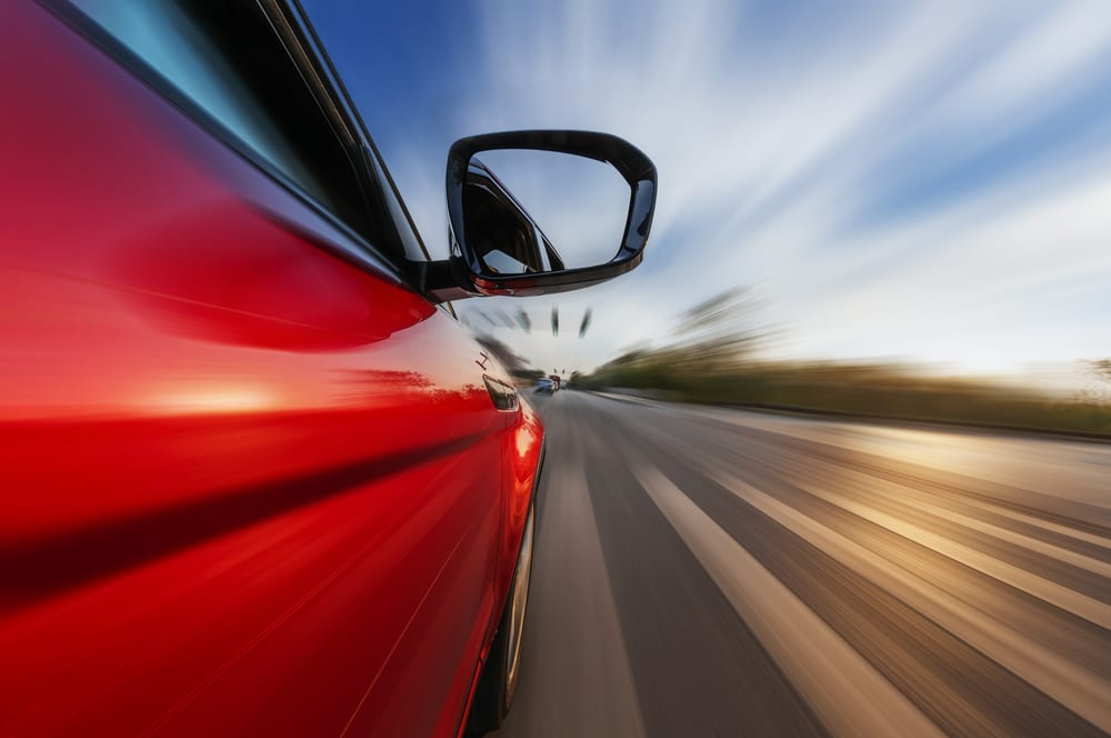 What causes the acceleration of the car