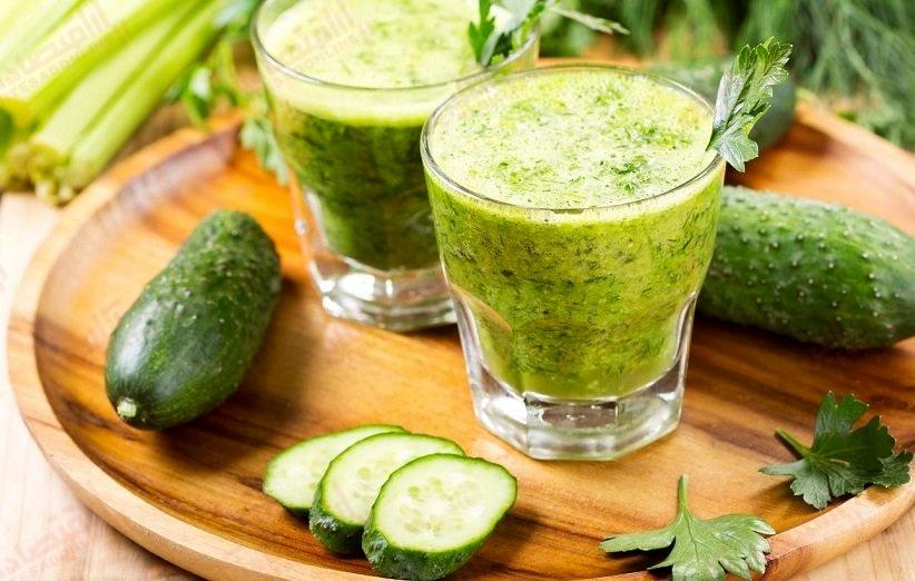 Milk-cucumber-shake