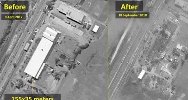 محل حملات اسراییل
