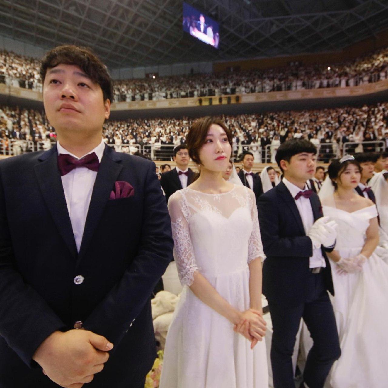 عروسی در کره جنوبی