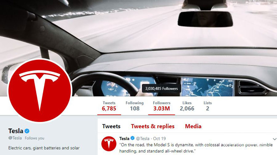 پایگاه خبری آرمان اقتصادی tesla-twitter-3 تسلا، مرسدس بنز را در توییتر شکست داد!