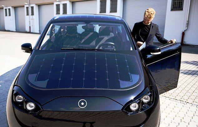 پایگاه خبری آرمان اقتصادی 2 خودرویی با سقف خورشیدی + تصاویر