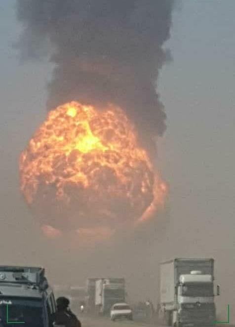آتش سوزی گمرک اسلام قلعه