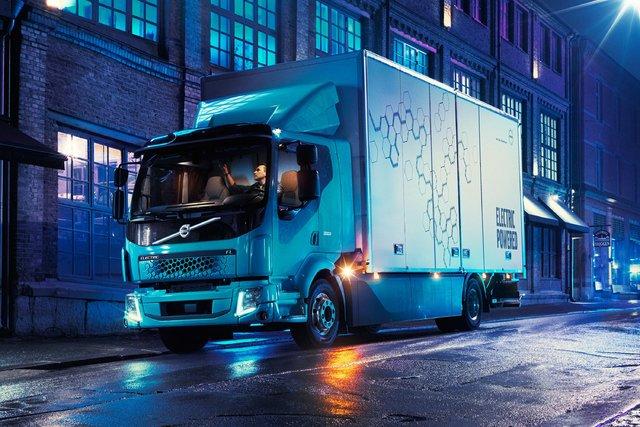 کامیون برقی ولوو