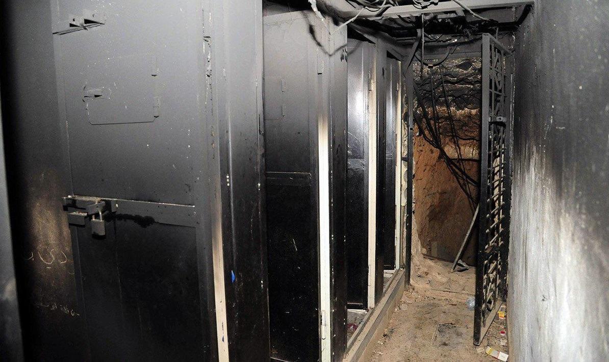 کشف شکنجهگاه مخوف تروریستها در دوما