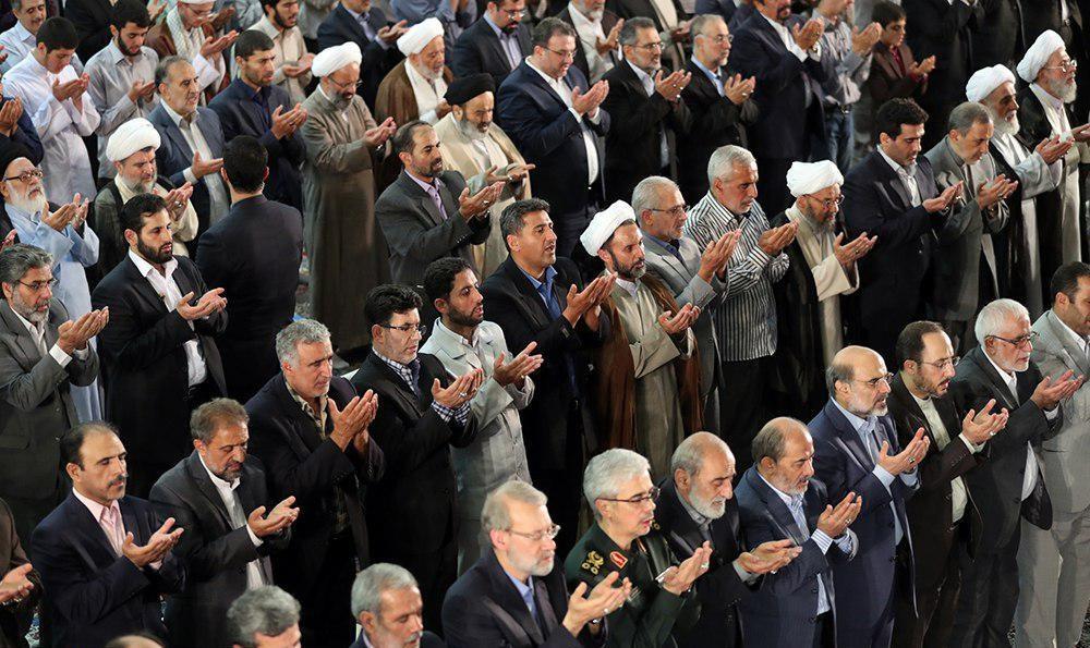 چهرههایی که در نماز عید فطر امسال حاضر شدند