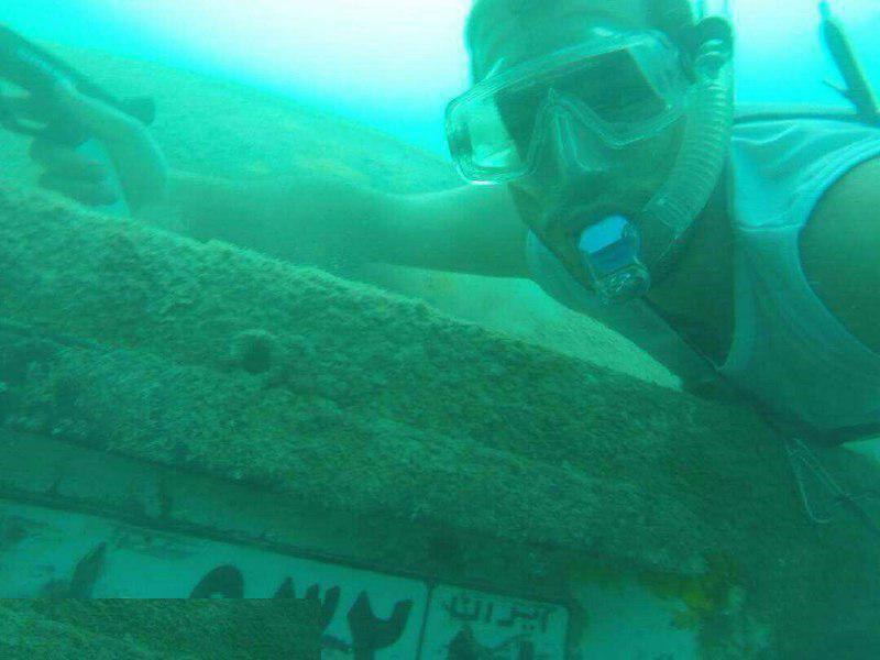 پیدا شدن خودرو در اعماق دریا!