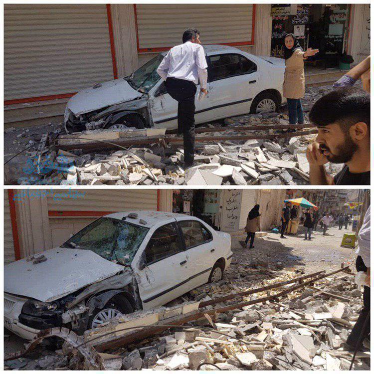 زلزله مسجد سلیمان