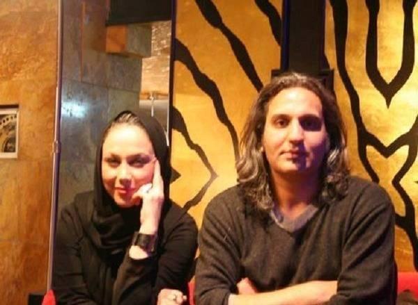 بهنوش-بختیاری-در-کنار-همسرش