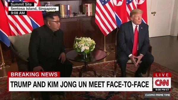 دیدار اون و ترامپ