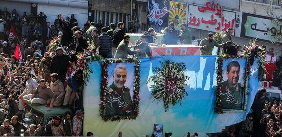 مراسم خاکسپاری پیکر شهید سردار سلیمانی لغو شد