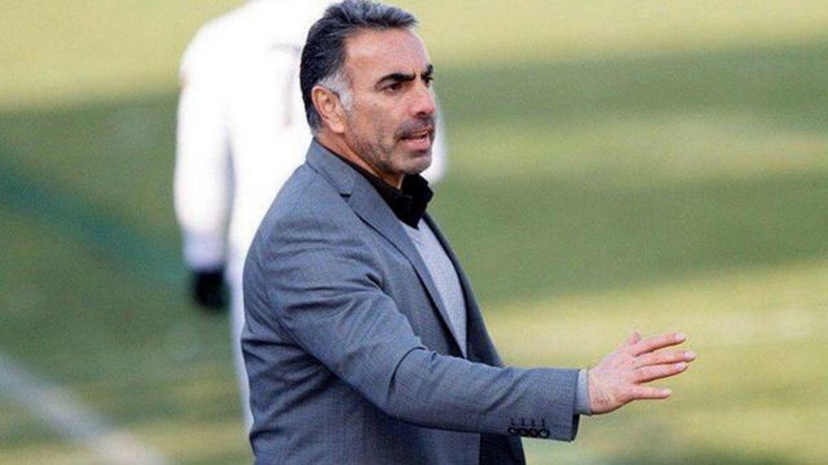 محمود فکری استعفا داد +عکس