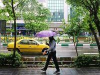 بارش شدید در ۱۲ استان