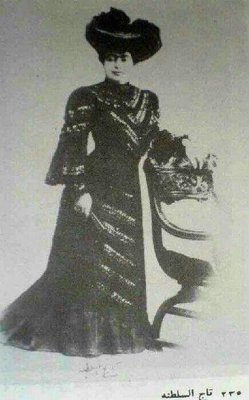 تصویری نایاب از دختر دیزاینر ناصرالدین شاه!