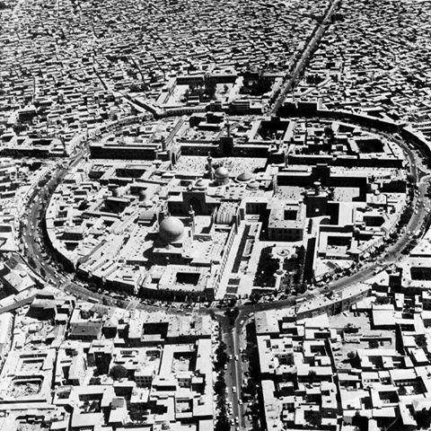 قدیمیترین تصاویر هوایی از حرم امام رضا (ع)