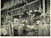بازار رشت در دوره قاجاریه +عکس