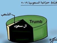 واکنش کاریکاتوریست سعودی به بودجه اعلام شده توسط عربستان