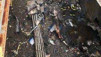 سقوط مرگبار هلیکوپتر در منهتن نیویورک +تصاویر