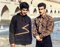 محسن تنابنده، ۲۳ سال پیش، کنار زایندهرود +عکس