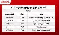 قیمت تویوتا C-HR تمام چرخ محرک در تهران +جدول