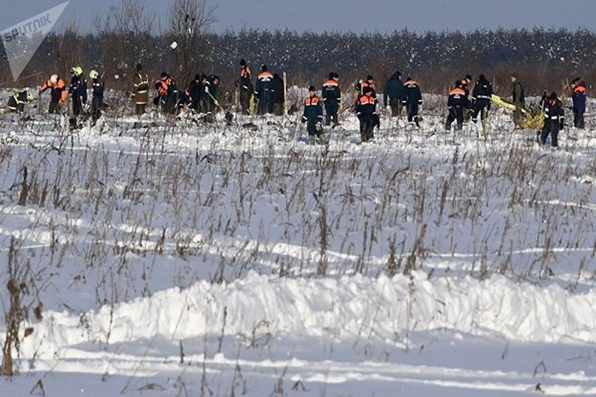 کشف بیش از ۷۰۰ قطعه از اجساد مسافرین آنتونوف در روسیه