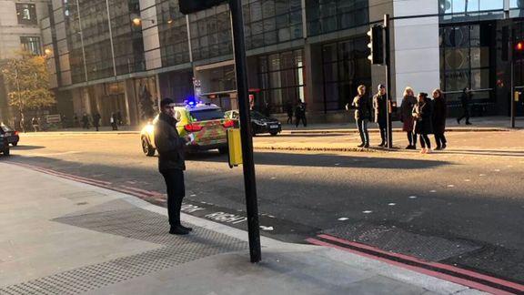 لندن بریج بر اثر تیراندازی مسدود شد