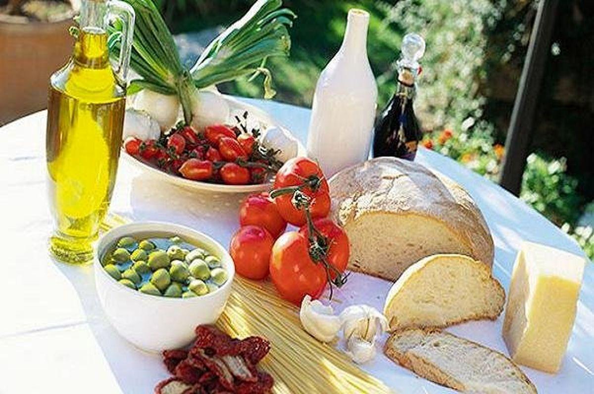 کاهش خطر آلزایمر با غذای مدیترانهای