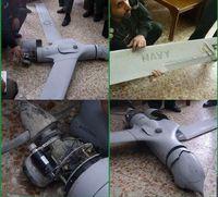 هدف قرار گرفتن پهپاد آمریکایی در آسمان ایران