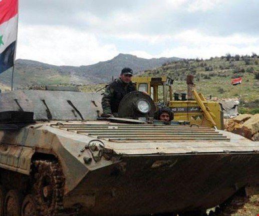 ارتش سوریه منطقه غرز در جنوب شرق درعا را آزاد کرد