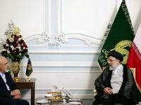 ظریف با ابراهیم رئیسی دیدار کرد +عکس