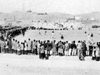 اولین مسابقه فوتبال ایران در زمان احمدشاه قاجار +عکس