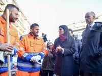 خانم شهردار کار دست زندانیان داد! +تصاویر