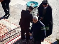 سردار سلیمانی در حرم امام رضا(ع) +عکس