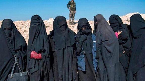 فرار 13زن داعشی از سوریه