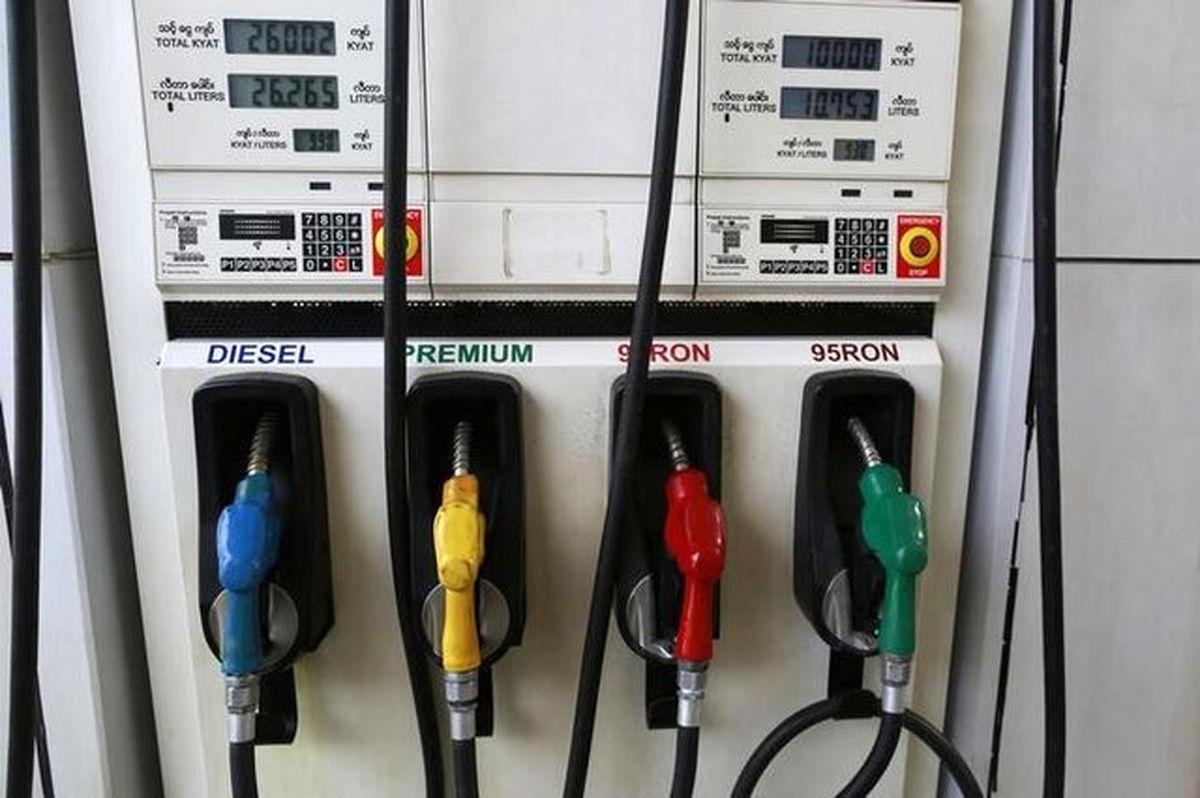 گرانی بنزین در آمریکا