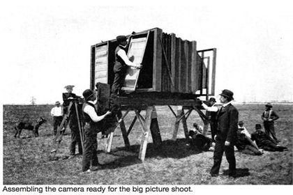 بزرگترین دوربین عکاسی دنیا +تصاویر