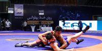 لیگ برتر کشتی آزاد +عکس