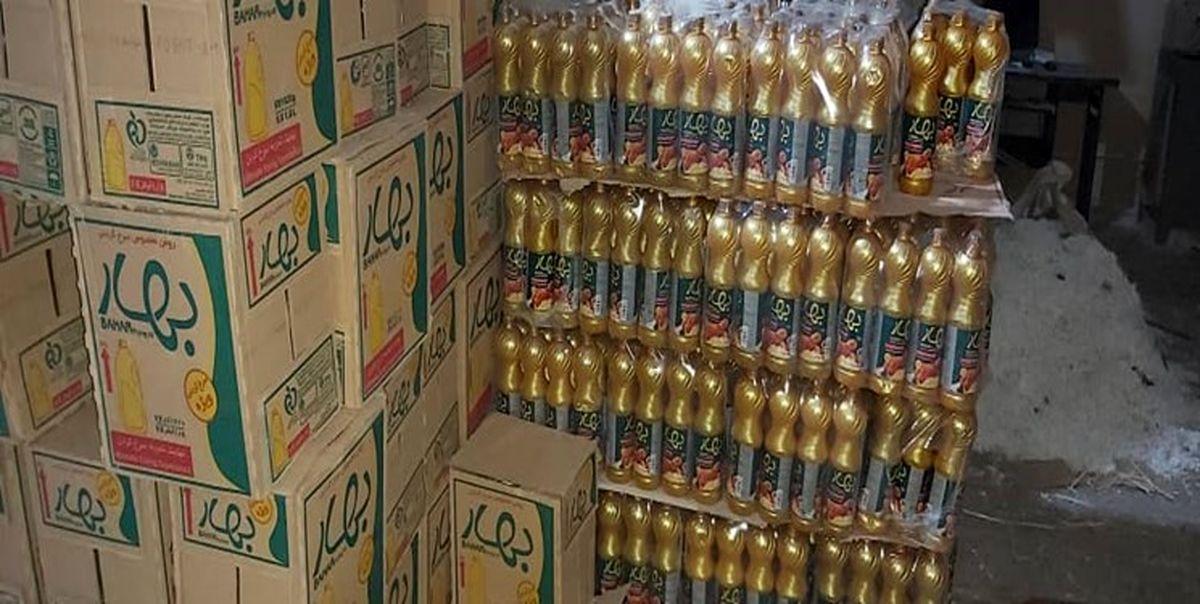 ۴۰تن روغن احتکار شده در بوشهر کشف شد