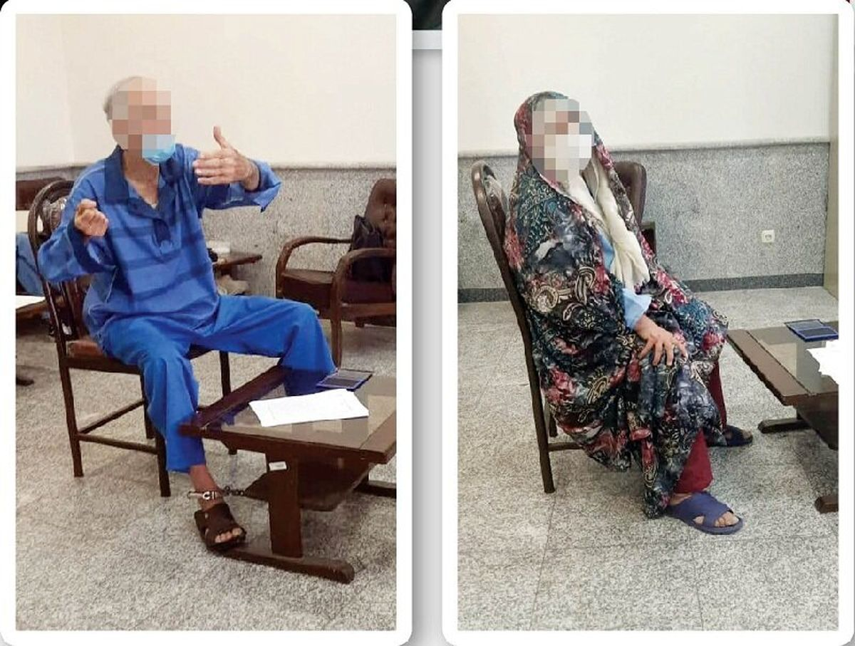 انگیزه های پدر بابک خرمدین در قتل دختر و دامادش + عکس